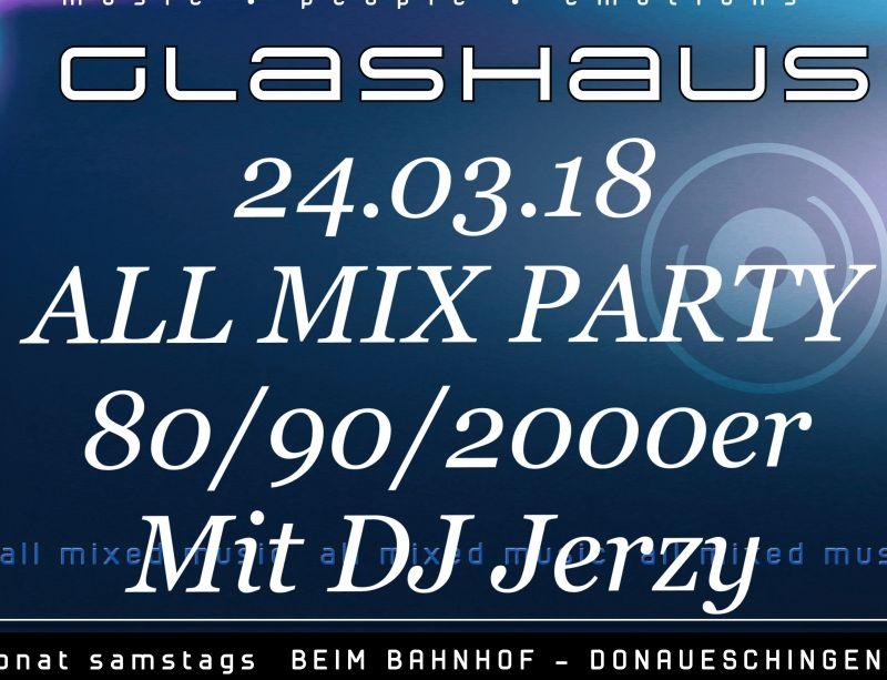 ALL MIX PARTY 80/90/2000er, Event, Donaueschingen, Bewertung posten
