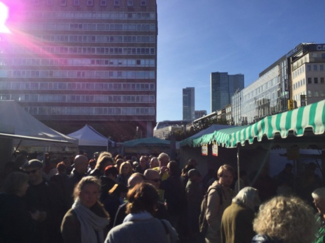Wochenmarkt Konsti