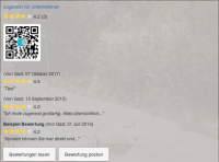 Ihr persönliches Website Widget zum Einbinden in Ihre Website
