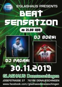 Beats Sensation DJ Borni & DJ Pagani