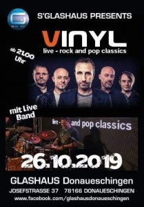 VINLY live-Rock and Pop Classics
