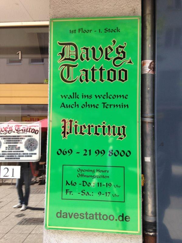 dave's tattoo