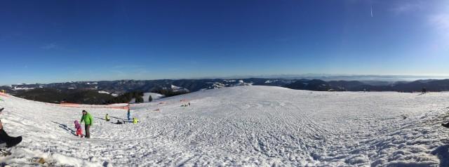 Skifahren am Belchen