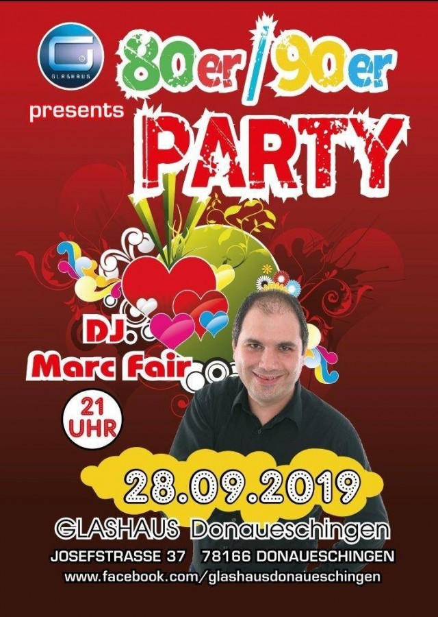 80/90er Party feat. Baden.fm Dj MARC FAIR