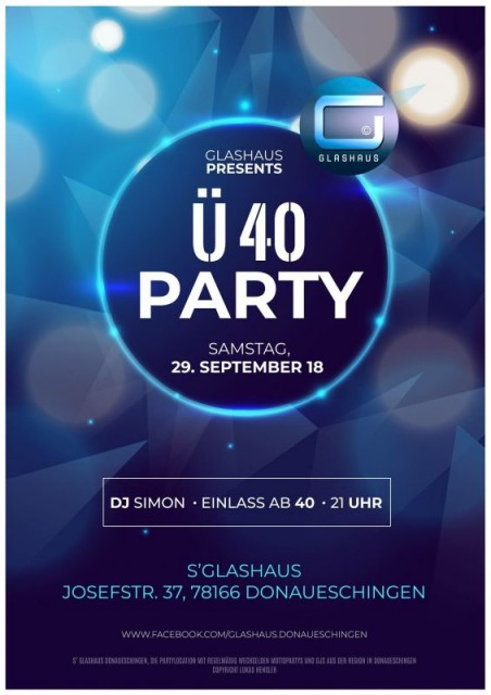 Ü40 Party  mit Dj Simon Teil 3