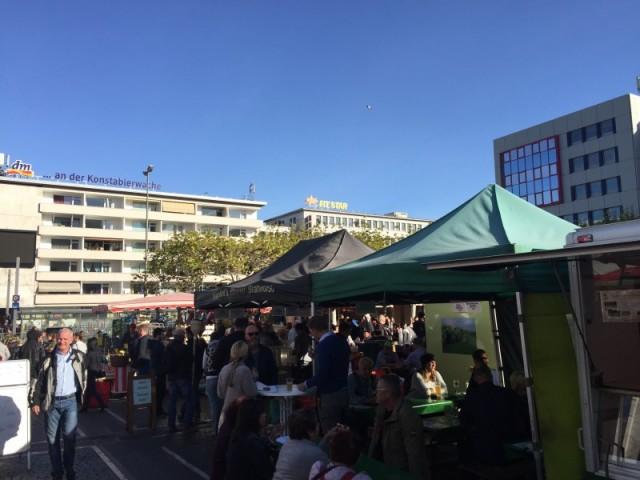 Wochenmarkt Konstablerwache