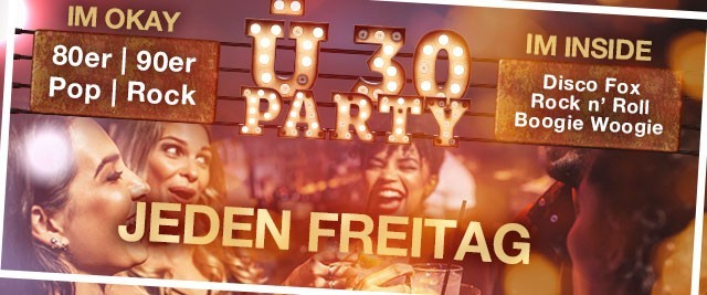 Ü-30 Party - 09.11.18