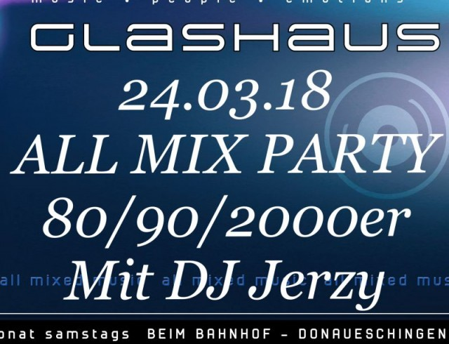 ALL MIX PARTY 80/90/2000er
