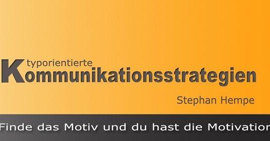 Stephan Hempe - Typenorientierte Kommunikationsstrategien