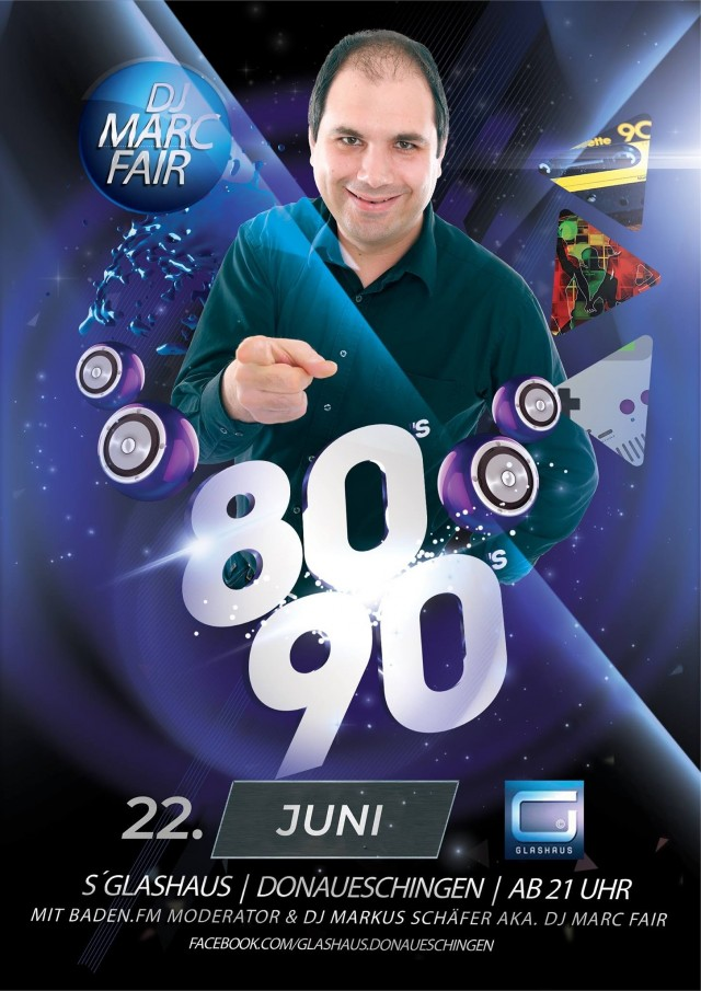 80er/90er/2000er Party feat.baden.fm DJ Marc Fair