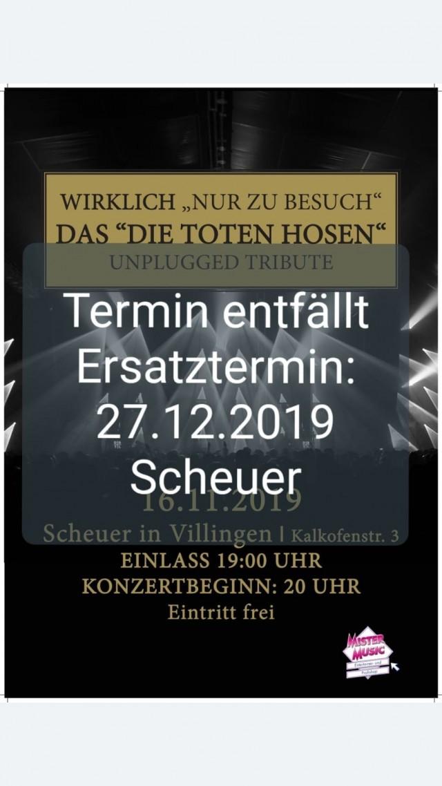 """Das """"Die Toten Hosen"""" Unplugged Tribute"""